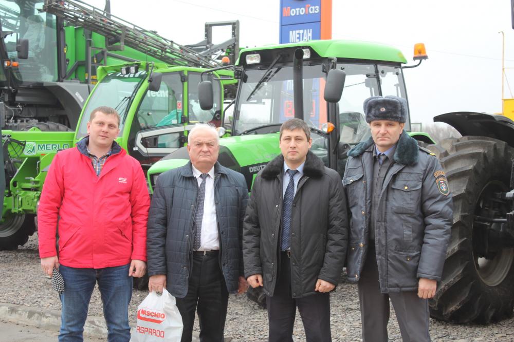 Специалисты Центрально - Черноземной МИС посетили дилеров сельскохозяйственной техники Курской области